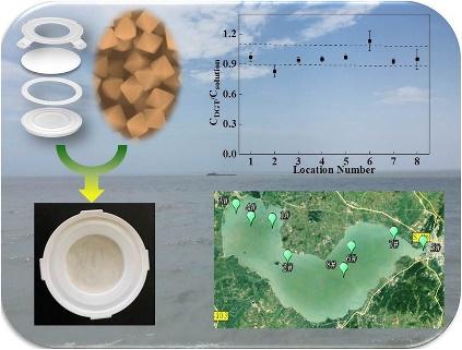 基于锆基金属有机框架材料的DGT技术对水中溶解态活性磷的原位检测